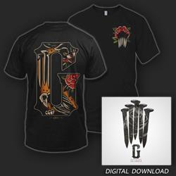 Gideon T-shirt + Digital Download