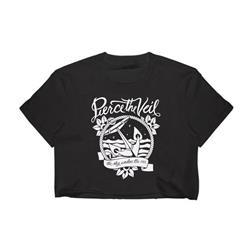 Anchor Black Girl's T-Shirt