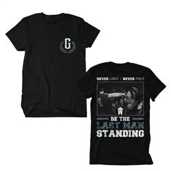 Last Man Standing Black T-Shirt