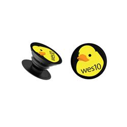 Wes10 Black Pop-Socket
