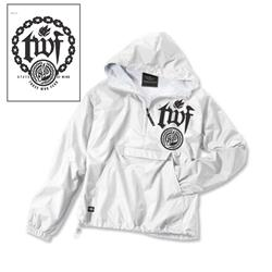 Chain White Windbreaker