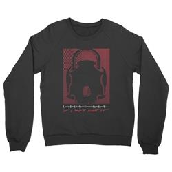 Skull Lock Black Crewneck