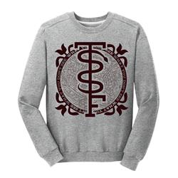 Snake Heather Grey Crewneck