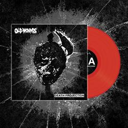 Old Wounds - Death Projection Blood Red 7inch
