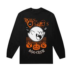 Spooky Ghost Black