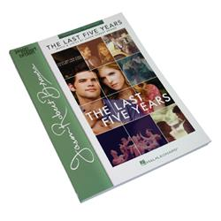 The Last Five Years Sheet Music Book