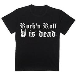 Rock 'N Roll Is Dead Black