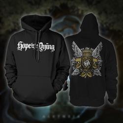 Wings Black Hooded Sweatshirt *Final Print*