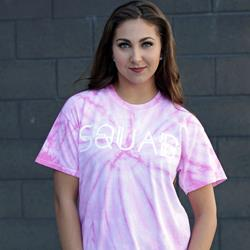 Squad / Notification Pink Spider Tie Dye