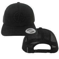Logo Black Trucker Hat