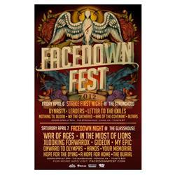 Facedown Fest 2012