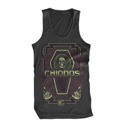 Coffin Skulls Heavy Metal Tank Top