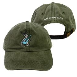 Deer Green Dad Hat