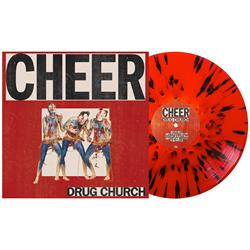 Cheer Bone In Blood Red W/ Heavy Black Splatter