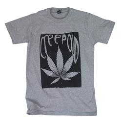 Weed Black On Grey