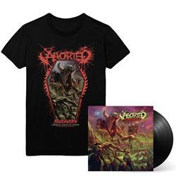 TerrorVision Black Vinyl/T-Shirt