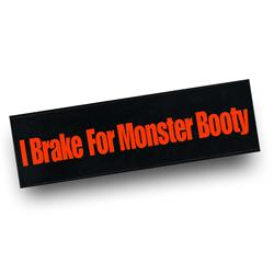 Monster Booty Bumper Sticker