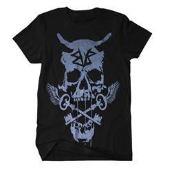 Skull Keys Black