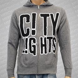 Logo Gunmetal Heather Gray