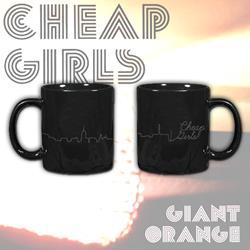 Cityscape Black Mug