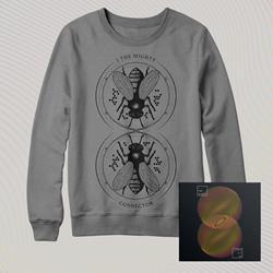Connector CD + Crewneck Sweatshirt Bundle