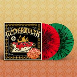 The Whole Enchilada Red/Green with Black Splatter