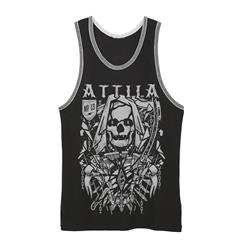 Reaper Black/Heather Tank Top