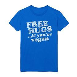 Motive Company Free Hugs If You're Vegan Blue