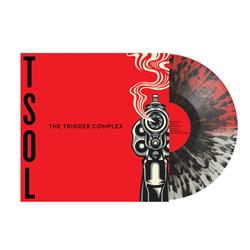 The Trigger Complex Half Clear/Half Red With Black Splatter