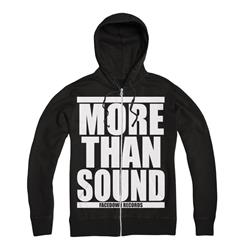 More Than Sound White Print Black *Sale! Final Print*