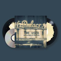 Live & Acoustic At The Palace Opaque Cream On Opaque Vintage Black Vinyl 2Xlp/DVD