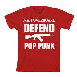 Defend Pop Punk Red