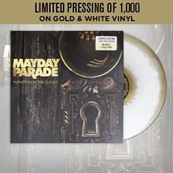 Monsters In The Closet White / Gold Vinyl LP