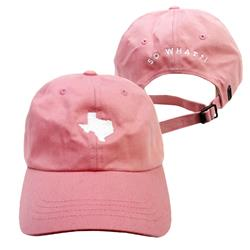 So What Music Festival Logo Pink Dad Hat