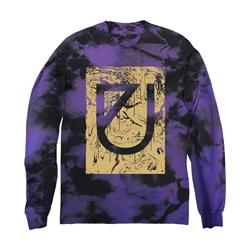 Marble Drip Logo Purple Custom Dye