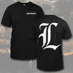 L Logo Black T-Shirt *Final Print*