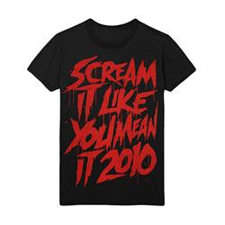Scream It Like You Mean It Tour Black