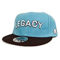Legacy Teal/Black Snapbacks