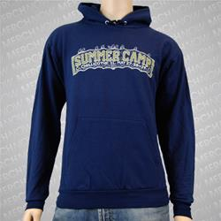 Summer Camp Navy Hooded