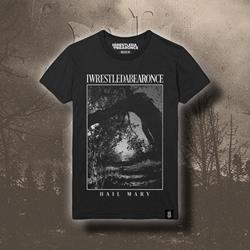 Hail Mary Photo Black T-Shirt