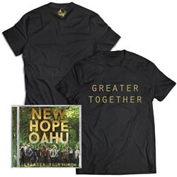 New Hope Oahu - Greater Together T-shirt + CD