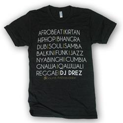 Mantralogy DJ Drez Music Tri-Black