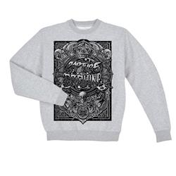 *Last One* Kingdom Heather Grey Crewneck