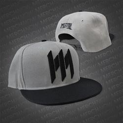 Big M Charcoal/Black Snapback Hat