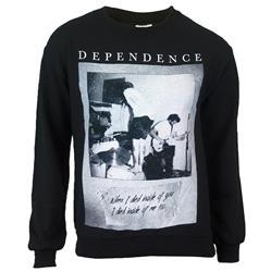 Live Photo Black Crewneck Sweatshirt