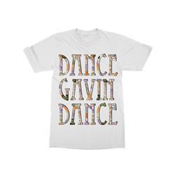 Collage Logo White T-Shirt