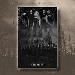 Hail Mary SIGNED Poster 11x17