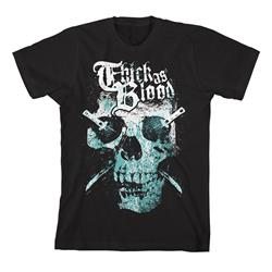 2 Color Skull Black