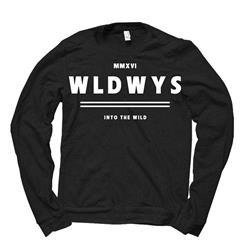MMXVI WLDWYS Black Crewneck