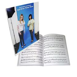 All Over Your Face Piano/Vocals Sheet Music Book